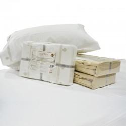 Juego de Sábanas 300 hilos de algodón egipcio 2 plazas y media