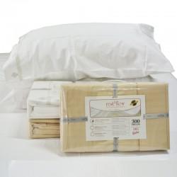 Juego de Sábanas Queen Size 300 hilos de algodón egipcio