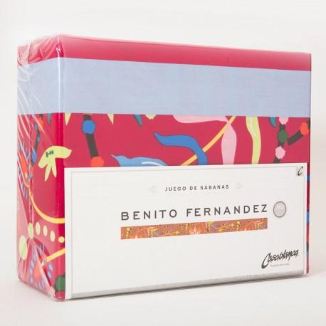 d49882f0611 Juego de Sábanas Casablanca Benito Fernandez Queen para 160 x 200