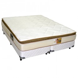 Colchon King Koil Finesse 200 x 200 + Sommiers Inducol